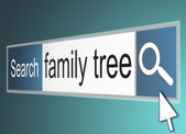 Family tree concept. — Stock Photo