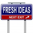 Fresh ideas. - Stockfoto