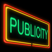 Publicity concept. — Stock Photo