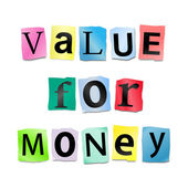 Value for money. — Stock Photo