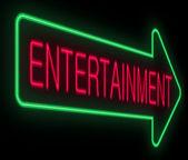 Entertainment concept. — Stock Photo