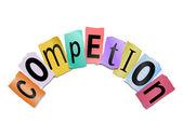Concepto de competencia. — Foto de Stock