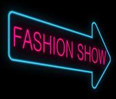 Fashion show concept. — Stock Photo