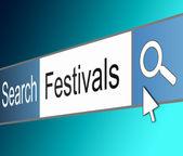 Festival-konzept. — Stockfoto