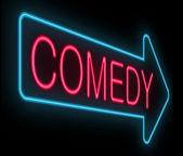 Concepto de comedia. — Foto de Stock