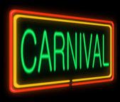Conceito de carnaval. — Foto Stock