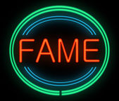 Fame concept. — Stock Photo