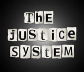The justice system. — Stock Photo