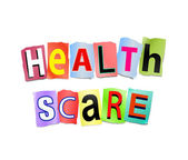 Health scare concept. — Stock Photo