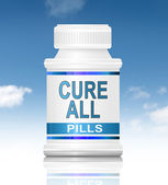 Cure all concept. — Stock Photo