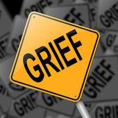Grief concept. — Stock Photo
