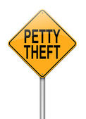Petty theft concept. — Stock Photo