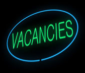 Vacancies. — Stock Photo