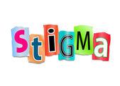 Stigma concept. — Stock Photo