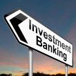 Investment banking concept. — Stock Photo