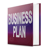 Business Plan concept. — Foto de Stock
