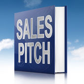 Sales pitch book. — Stock Photo