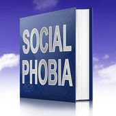 Social Phobia concept. — Stock Photo