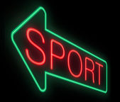 Sports concept. — Stock Photo