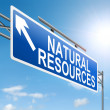 Stock Photo: Natural resources concept.