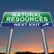 Natural resources concept. — Stock Photo #23995143