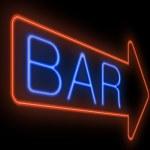 Bar sign. — Stock Photo #23995321