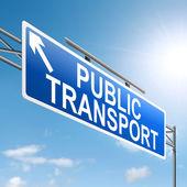 Public transport concept. — Stock Photo