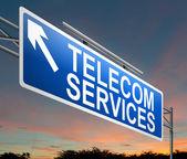 Telecoms service concept. — Stock Photo