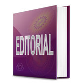 Editorial book. — Stock Photo