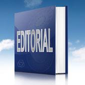 Libro editorial. — Foto de Stock