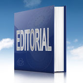 Editorial book. — Stock Photo