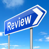 Review concept. — Stock Photo