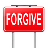 Forgive concept. — Stock Photo