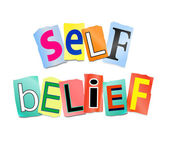 Self belief concept. — Stock Photo