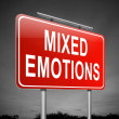 Royalty-Free Stock Photo: Mixed emotions concept.