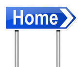 Home concept. — Stock Photo