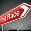 Rat race concept. — Stock Photo
