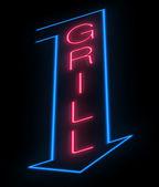 Grill signe. — Photo