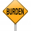 Stock Photo: Burden concept.