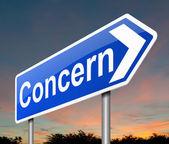 Concern concept. — Stock Photo