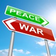 War or peace concept. — Stock Photo #26605319