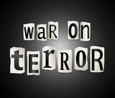 War on terror. — Stock Photo