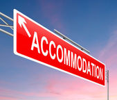 Accommodation concept — Stock Photo
