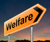 Welfare concept. — Stock Photo