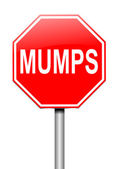 Mumps concept. — Stock Photo