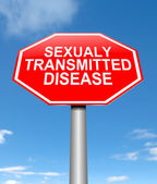 Sexually transmitted disease concept. — Stock Photo