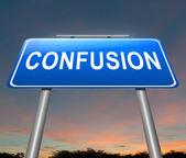 Confusion concept. — Stock Photo