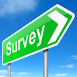 Survey concept. — Stock Photo