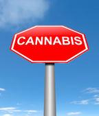 Cannabis concept. — Stock Photo