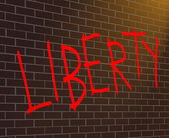 Liberty concept. — Stock Photo